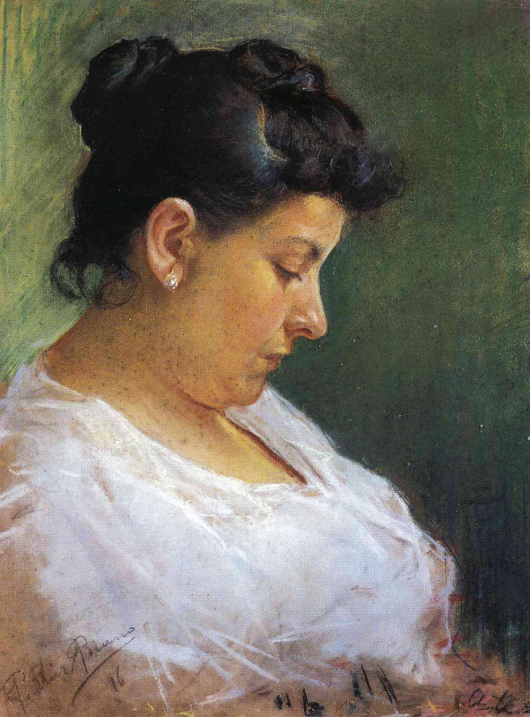 Pablo Picasso. Portrait of the artist's mother