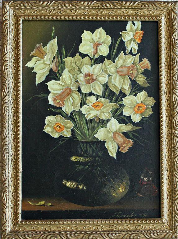 Lyudmila Vladimirovna Goryunova. Daffodils