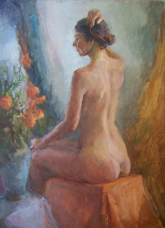 Виктория Коркишко. Ню