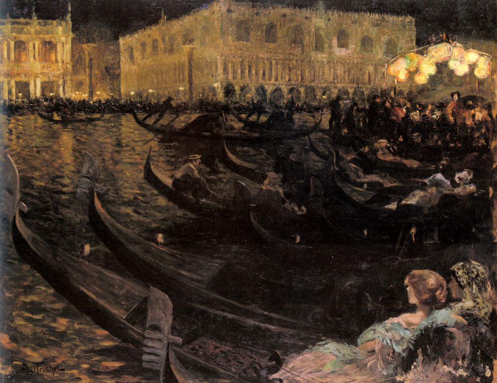 Луис Абель Тручет. Венеция