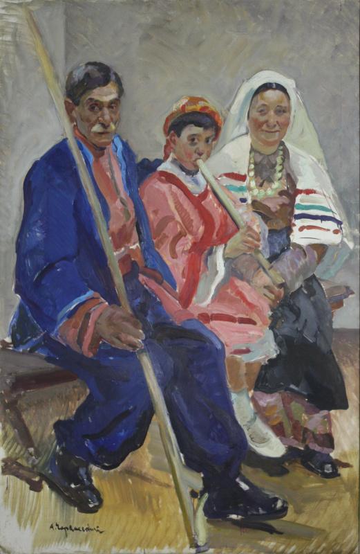 Абрам Маркович Черкасский. Молдаванская семья