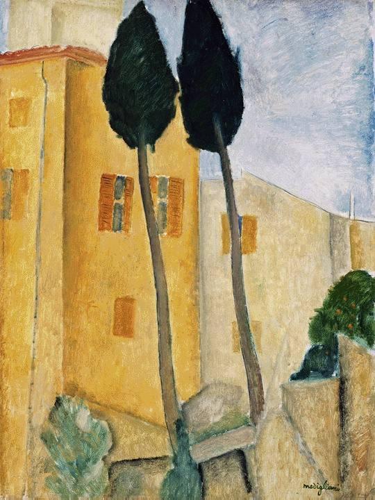 Amedeo Modigliani. Cypress home