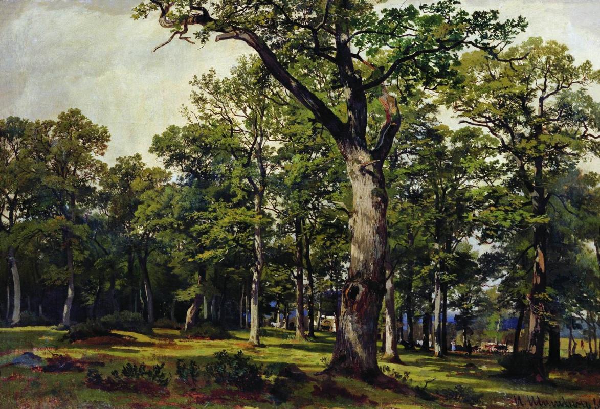 Ivan Shishkin. Oak forest