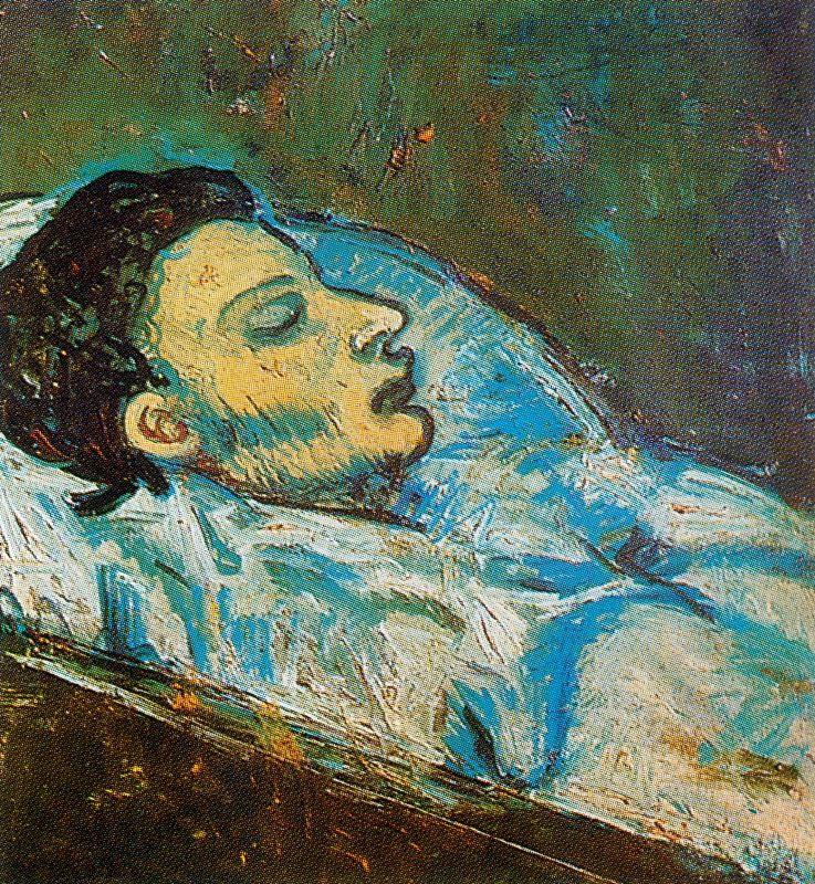 Пабло Пикассо. Смерть