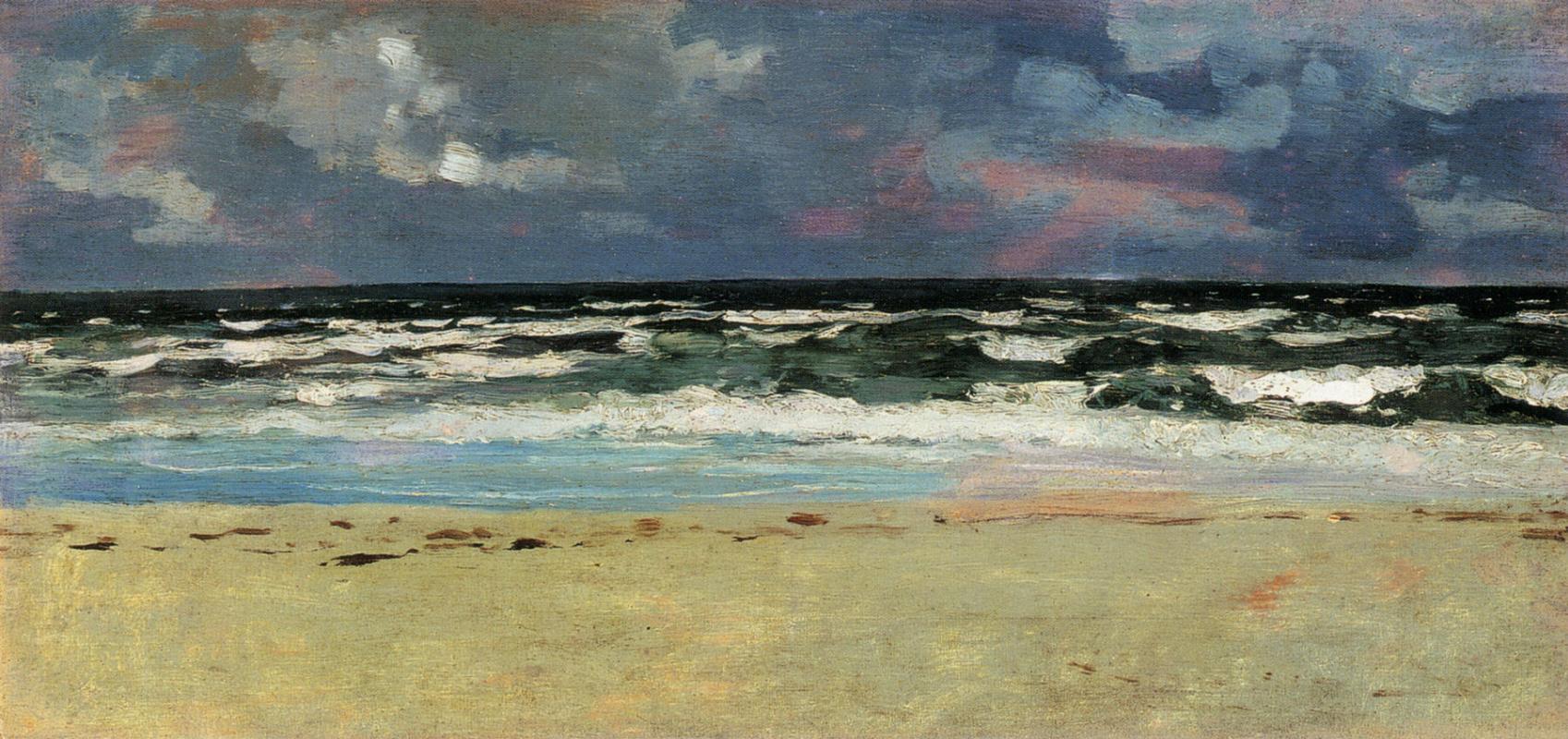 Winslow Homer. Sandy beach