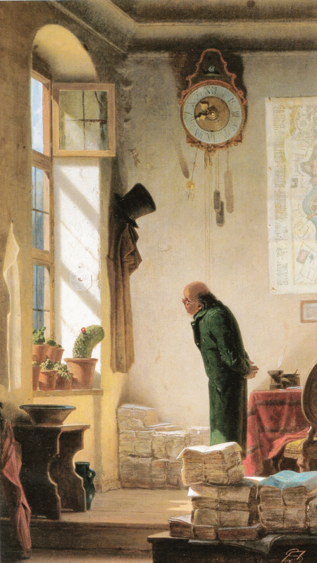 Karl Spitzweg. Lover of cacti