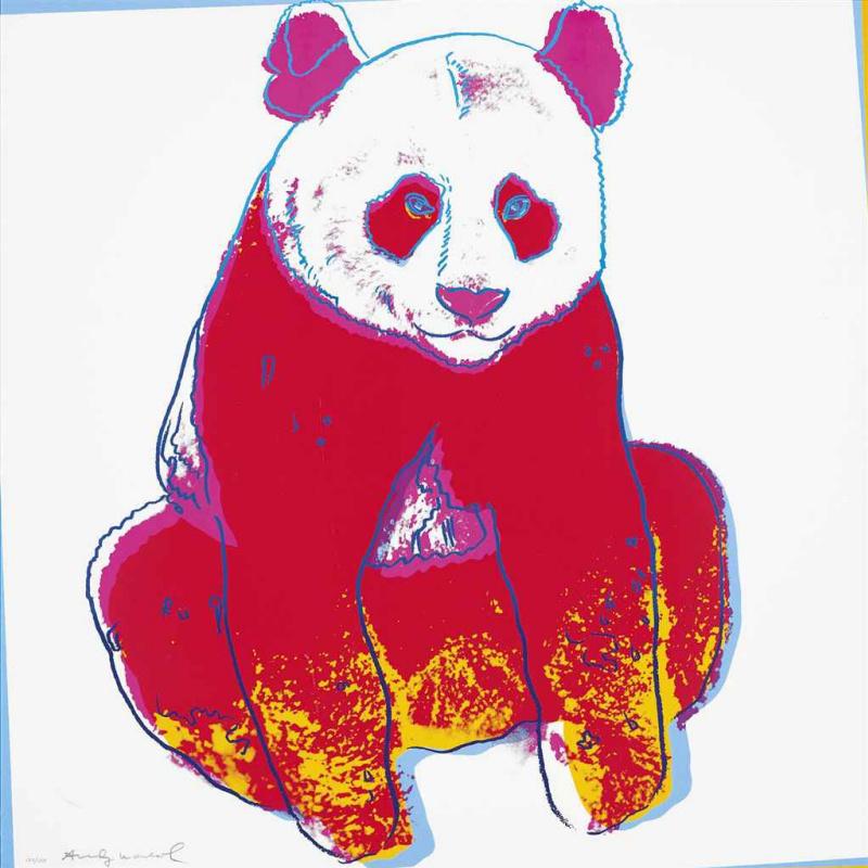Andy Warhol. The giant Panda