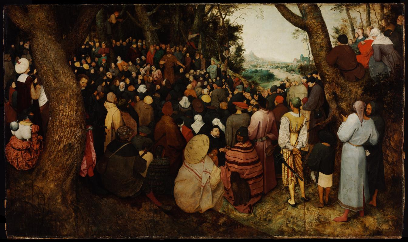 Питер Брейгель Младший. Проповедь святого Иоанна Крестителя