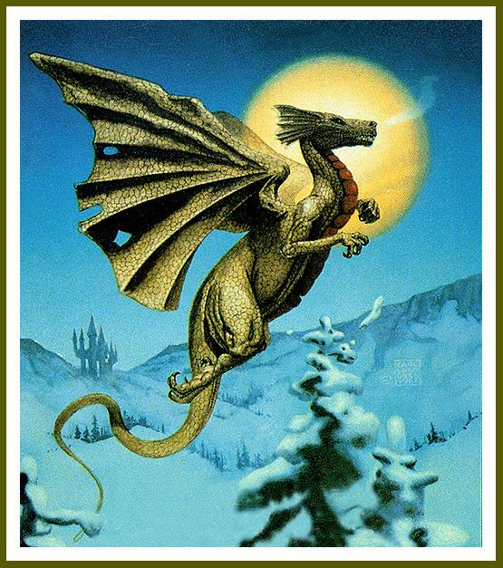 Karl Lundgren. Winter dragon
