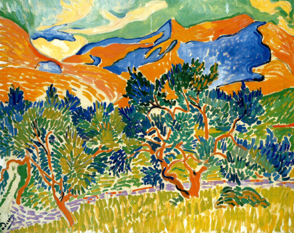 Andre Derain. Mountains at Collioure
