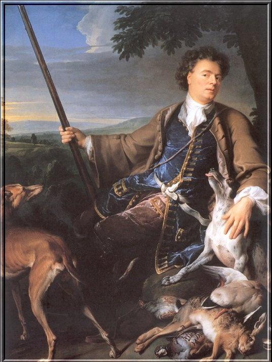 Александр Франсуа Деспортес. Автопортрет
