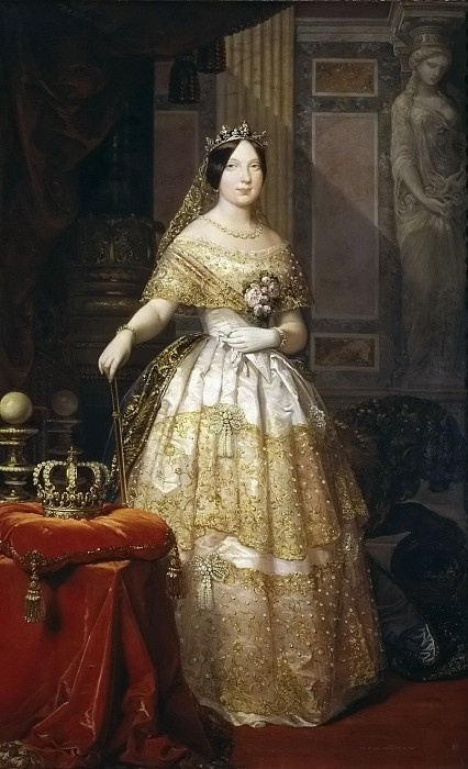 Федерико де Мадрасо-и-Кунс. Портрет Елизаветы ІІ, королевы Испании