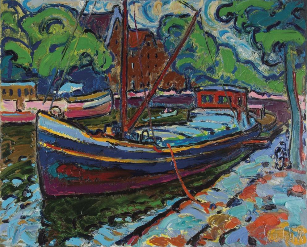 Andrew Chebotaru. Fun boat