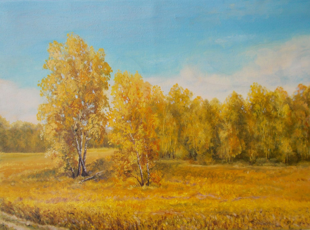 Vladimir Vasilyevich Abaimov. The Autumn Bloom
