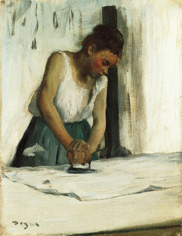 Edgar Degas. Laundress