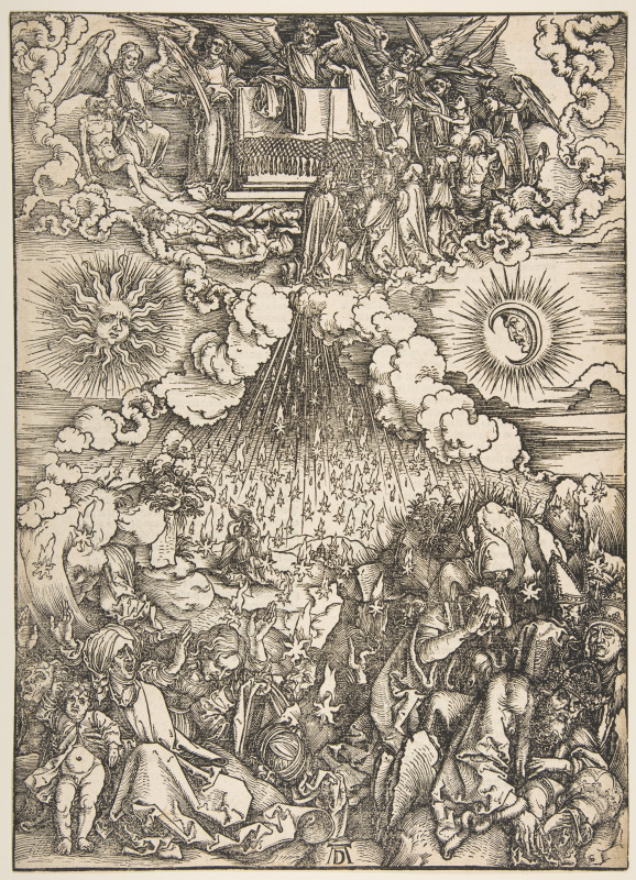 Albrecht Durer. The opening of the fifth and sixth Seals