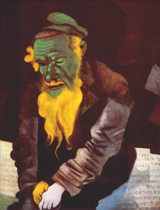 Marc Chagall. Green Jew