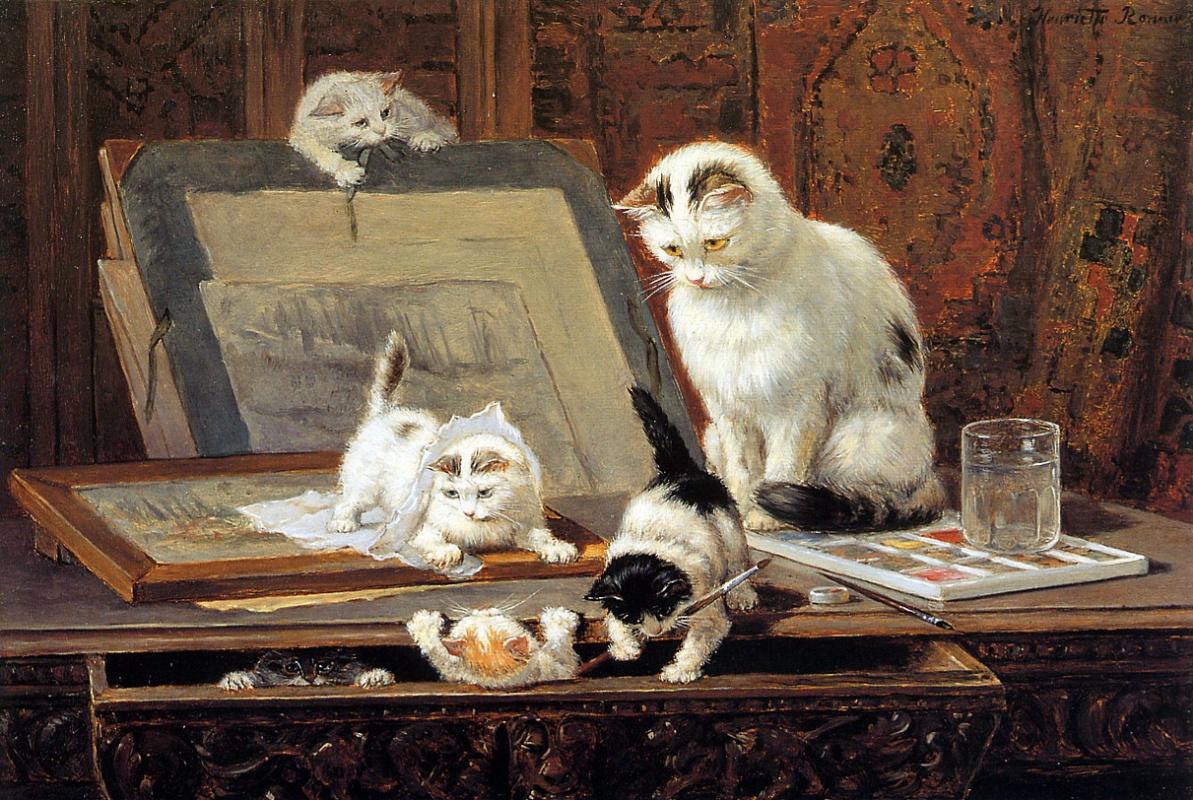 Генриетта Роннер-Книп. Рисование