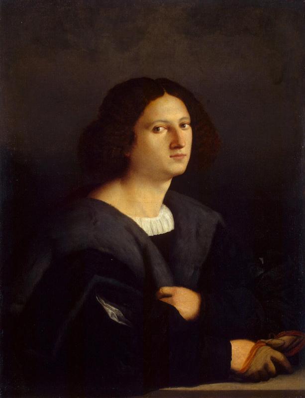 Джакомо Пальма Старший. Мужской портрет