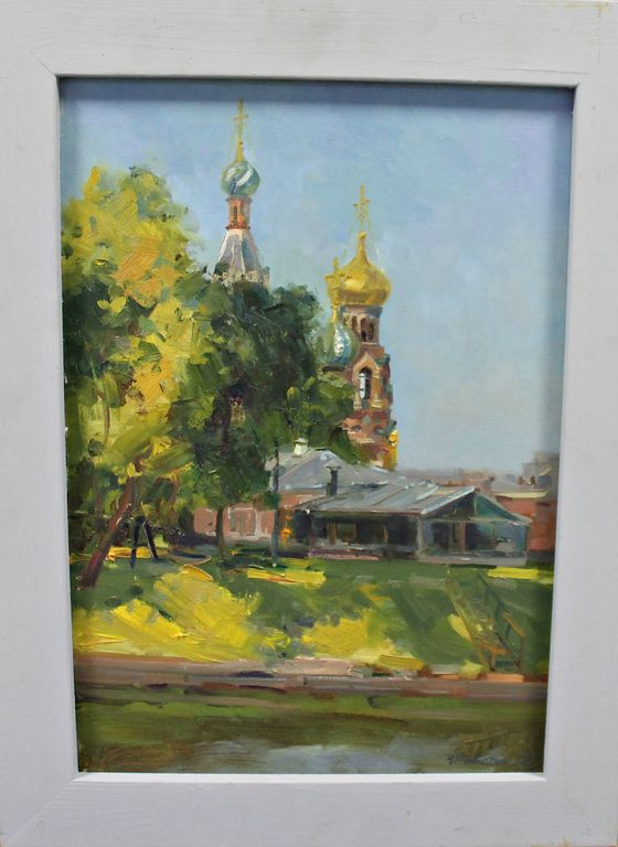Anatoly Ivasyutin. View of the temple. Savior on Spilled Blood