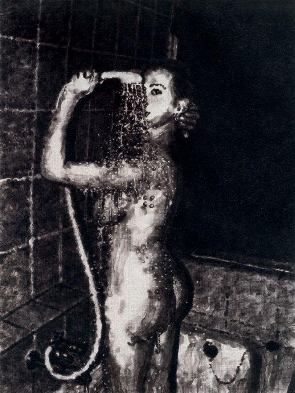 Под душем