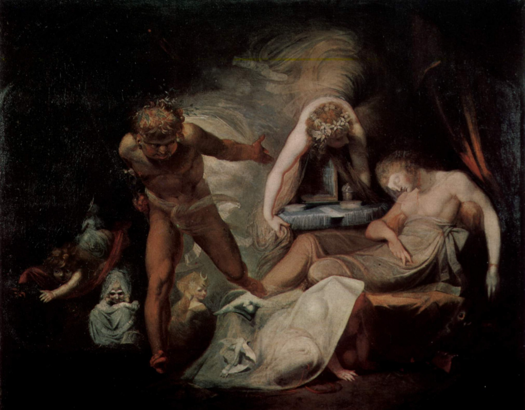 Johann Heinrich Fuessli. The Dream Of Belinda