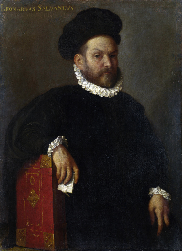 Джованни Баттиста Морони. Портрет Леонардо Сальвагно