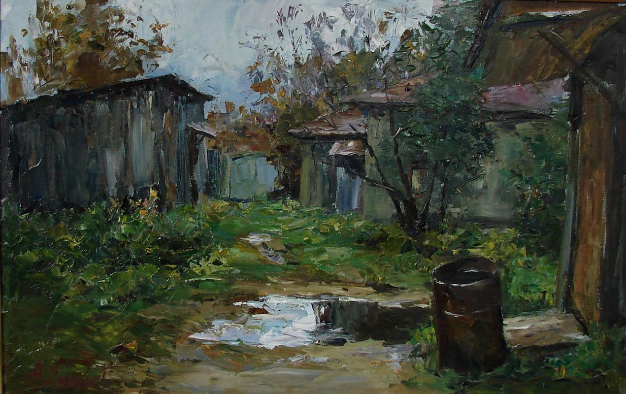 Alexander Vladimirovich Smirnov. October came