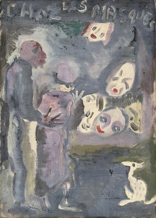 Leonora Carrington. Masks