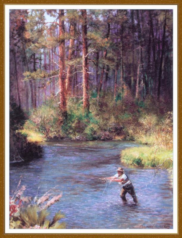 Томас Джефферсон Китс. Река Метолис в Орегоне