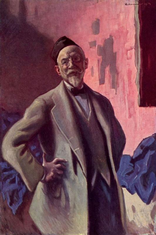 Хуго барон фон Хаберман. Автопортрет