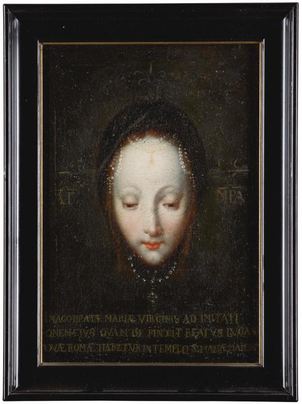 Неизвестный  художник. Богородица
