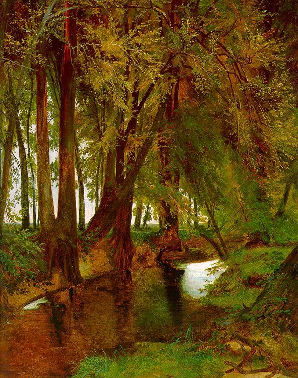 Карл Блечен. Деревья