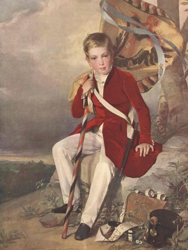 Friedrich von Amerling. Archduke Franz Joseph, age 8
