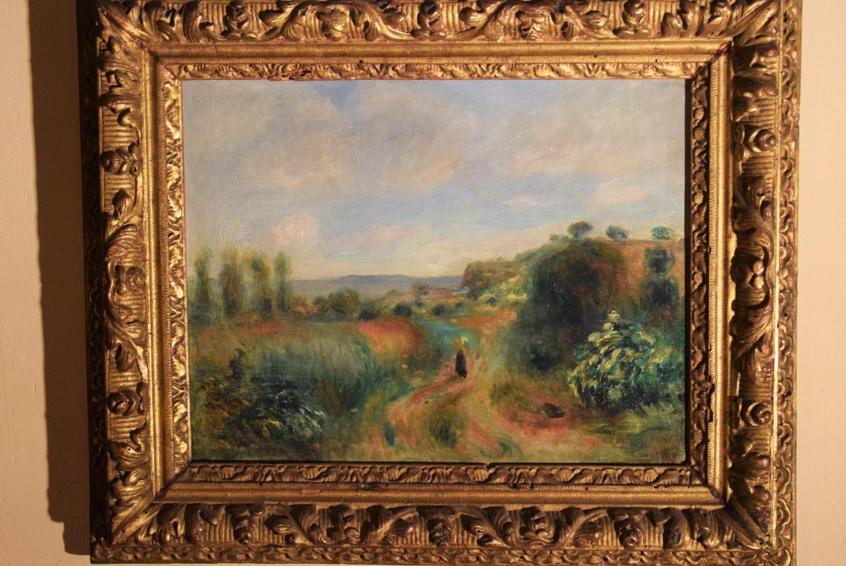 Pierre-Auguste Renoir. Paysage a Cagnes
