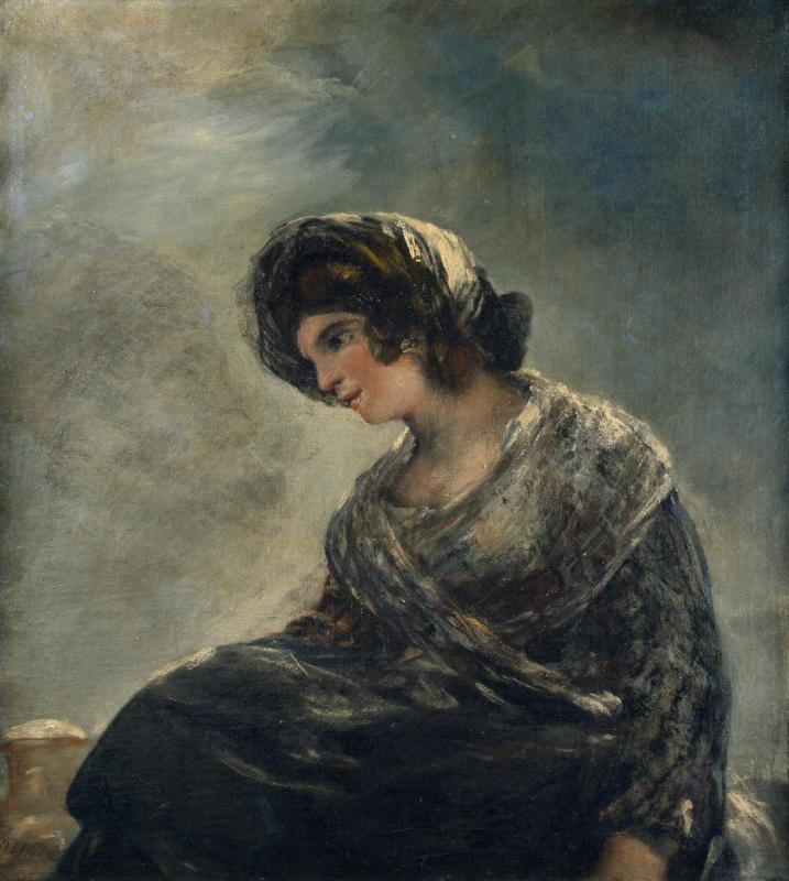 Francisco Goya. Thrush from Bordeaux