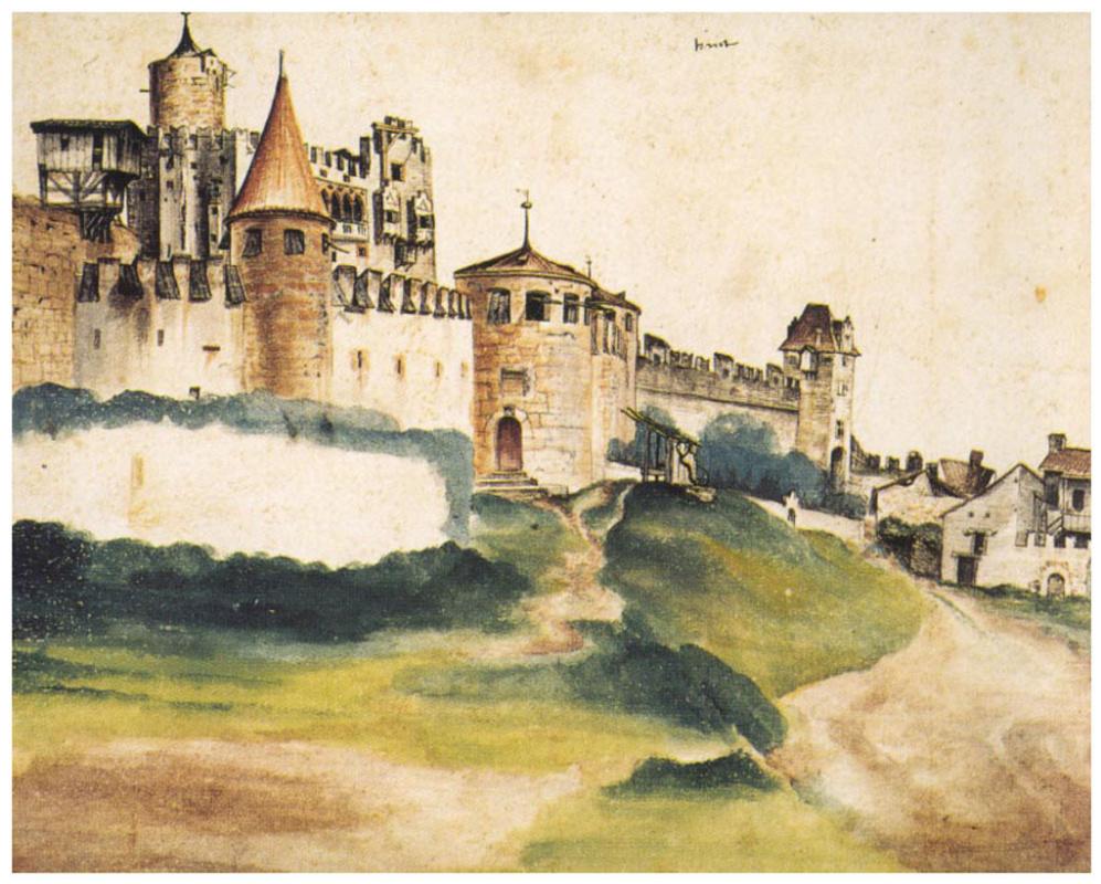 Albrecht Dürer. Castle Of Trento