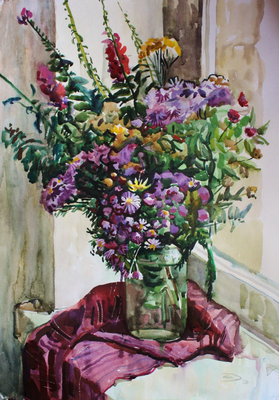 Alexander Svistunov. Flowers