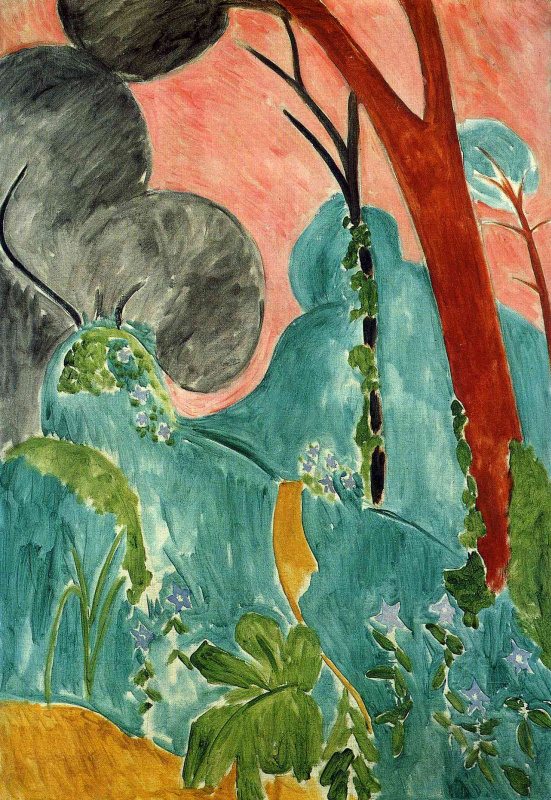Henri Matisse. Moroccan garden