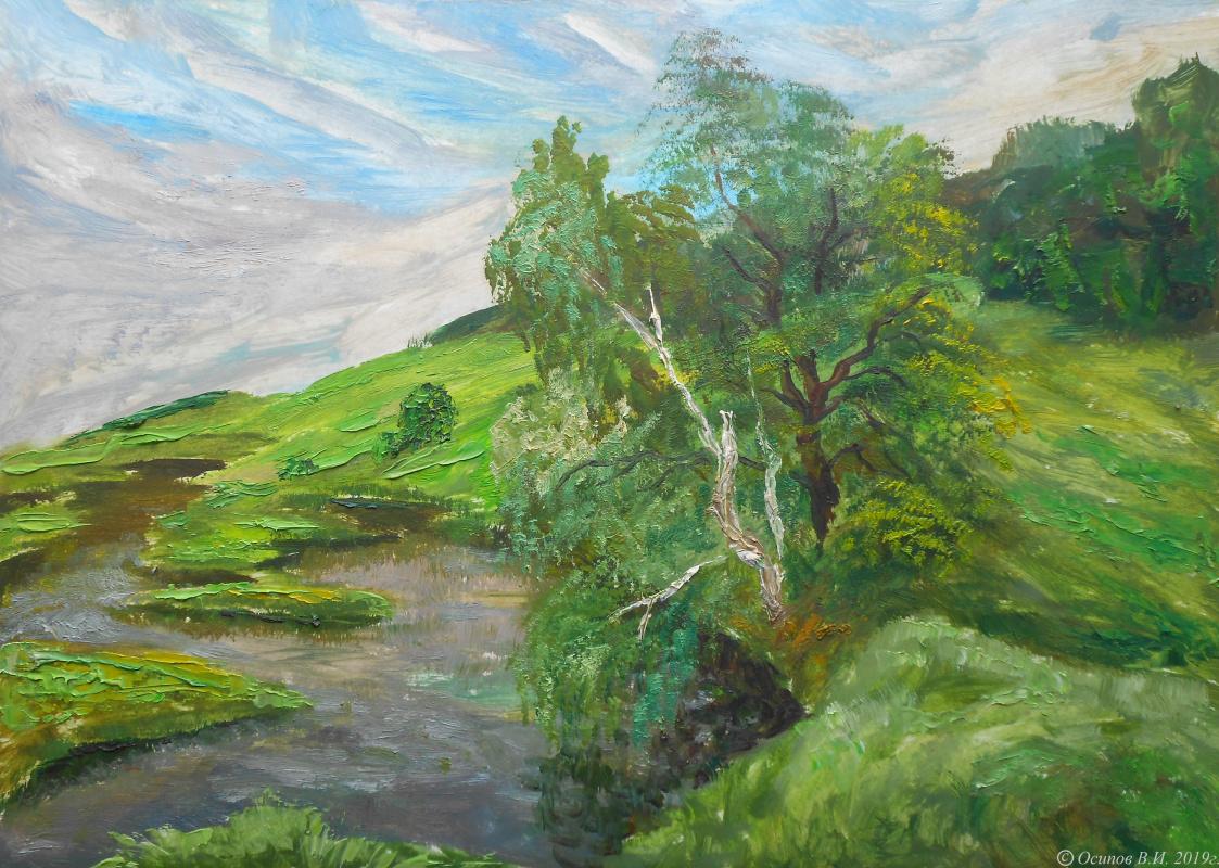 Владимир Иванович Осипов. In the green silence