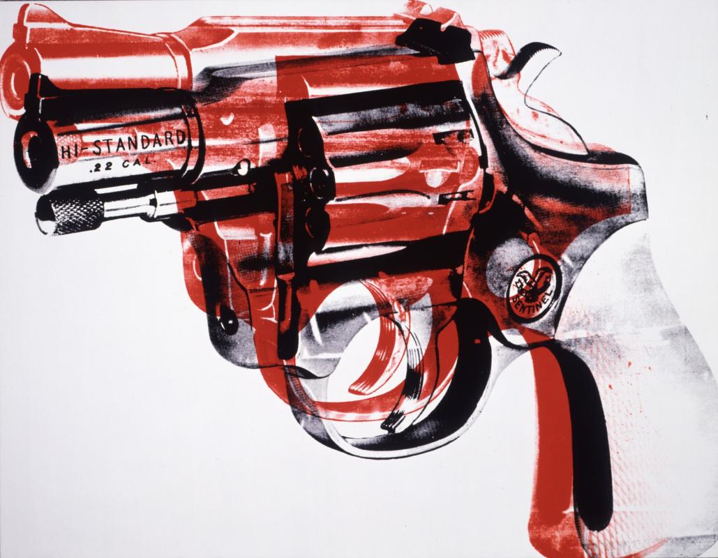 Andy Warho. Револьвер