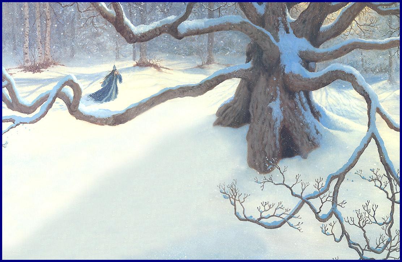 Рут Сандерсон. Сугробы снега