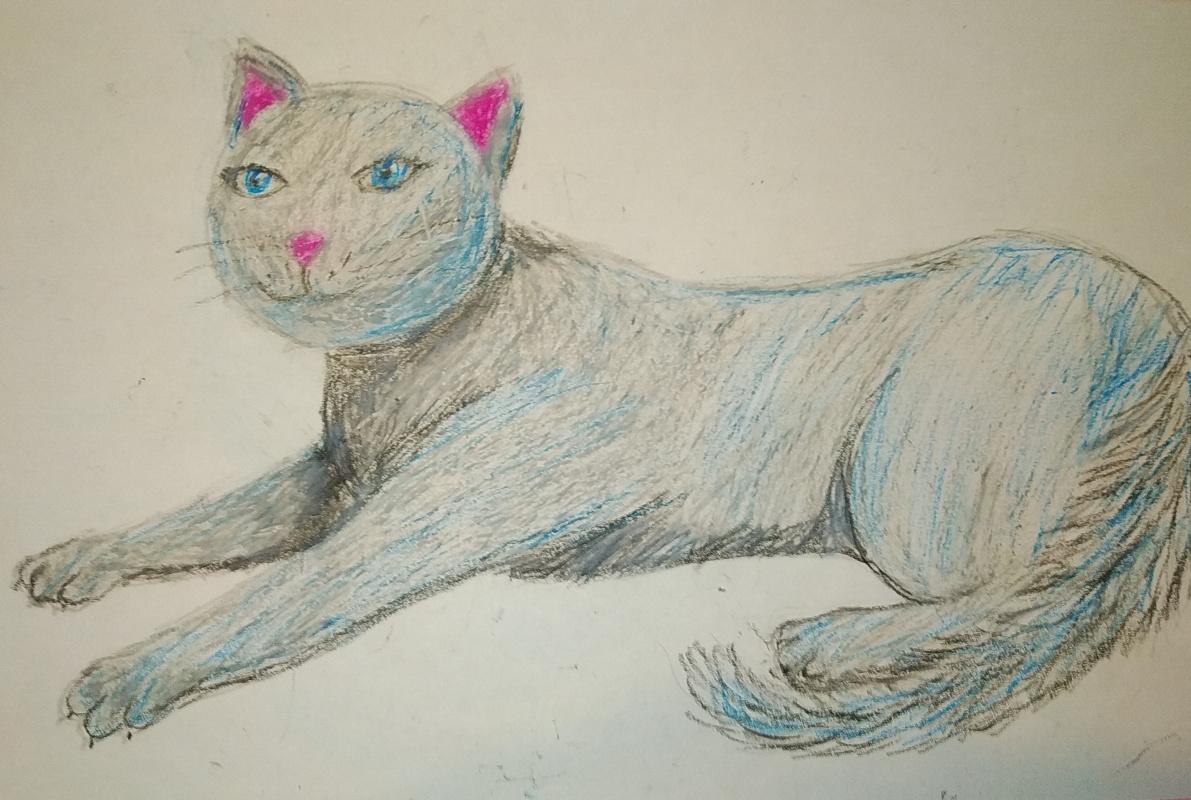 Zina Vladimirovna Parisva. Cat