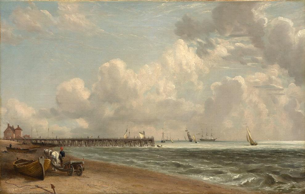 John Constable. Yarmouth pier II