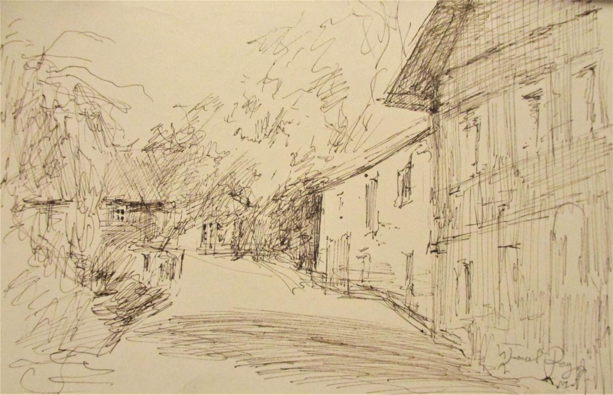 Fedor Dmitrievich Usachev. Street