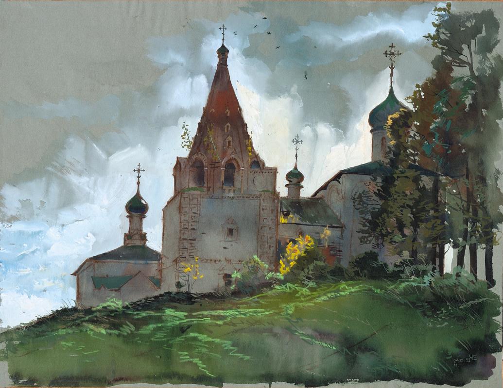 Eugene Konstantinovich Chivikov. Architectural landscape