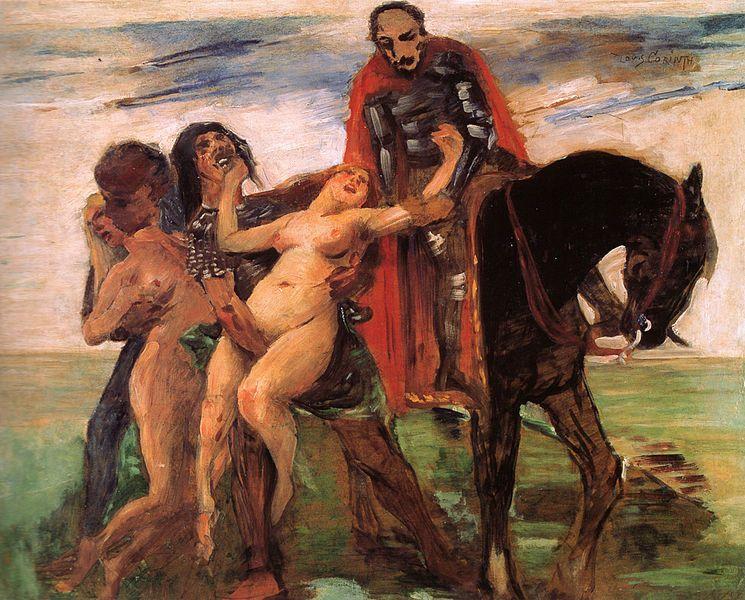 Lovis Corinth. Kidnapping