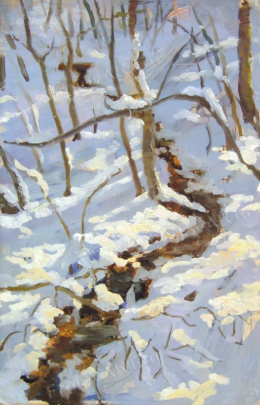 Valery Frolov. Зимний лес