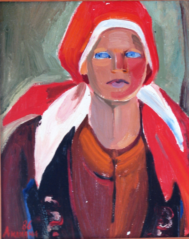 Liliana Nikolaevna Rastorgueva. Portrait Ukrainka