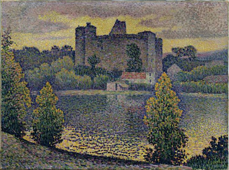 Jean Metzinger. The château de Clisson